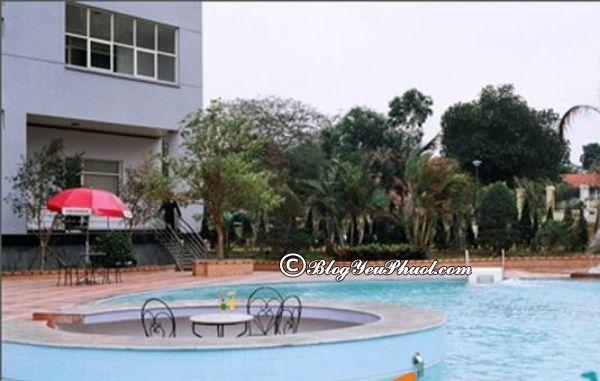 Tiện ích nổi bật củakhách sạn Grand Hạ Long? Khách sạn Grand Hạ Long có bể bơi không?