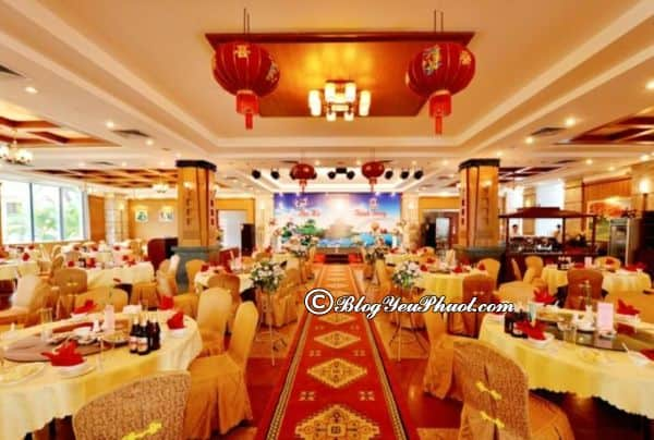 Đánh giá nhà hàng, đồ ăn của khách sạn Grand Hạ Long: Khách sạn Review vị trí, tiện nghi, chất lượng khách sạn Grand Hạ Long có gì nổi bật?