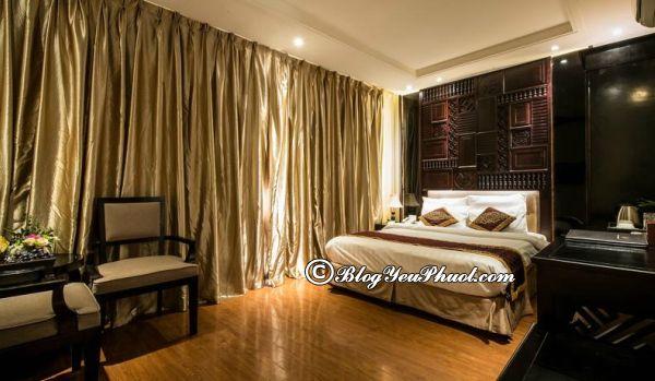 Giới thiệu Hanoi Graceful Hotel Hoàn Kiếm Hà Nội: Đánh giá phòng ốc, tiện nghi của khách sạn Hanoi Graceful