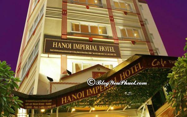 Hanoi Imperial Hotel – khách sạn 3 sao phố Cổ