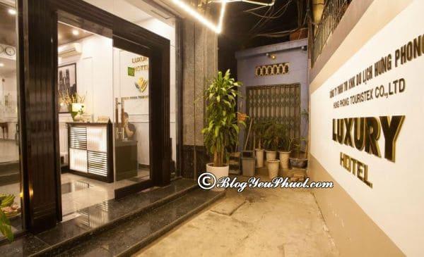 Hanoi Luxury Hotel – khách sạn 3 sao Phố cổ