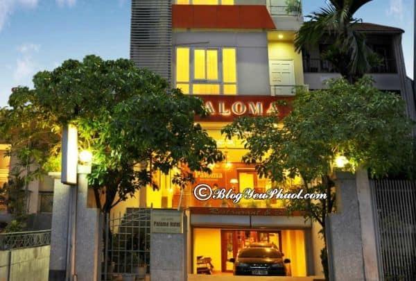Hanoi Paloma Hotel Tây Hồ có tốt không? Đánh giá tiện nghi, thiết kế của khách sạn Paloma Hà Nội