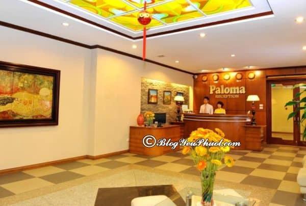 Giới thiệu về Hanoi Paloma Hotel- khách sạn 3 sao Quận Tây Hồ: Review phòng ốc, dịch vụ, chất lượng khách sạn Paloma Tây Hồ Hà Nội