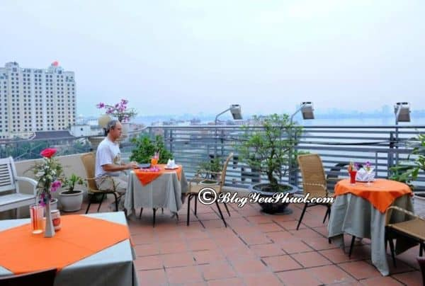 Đánh giá chi tiết khách sạn Paloma Tây Hồ Hà Nội: Khách sạn Paloma Tây Hồ Hà Nội có view đẹp, sạch sẽ, tiện nghi không?