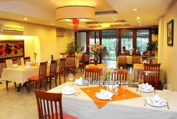 Khách sạn Paloma Tây Hồ Hà Nội có tốt không? Review nhà hàng, đồ ăn, buffet của khách sạn Paloma Tây Hồ Hà Nội