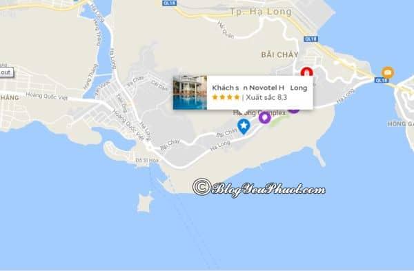 Khách sạn Novotel Hạ Longnằm ở đâu, có gần biển không? Đánh giá vị trí khách sạn Novotel Hạ Long Bay