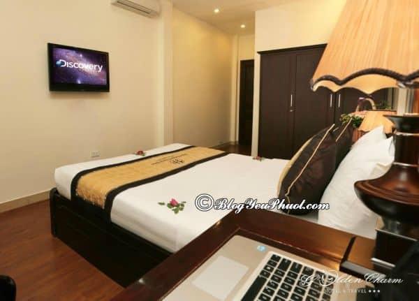 Có nên ở khách sạn 3 sao Golden Charm Hà Nội? Review phòng ốc, nội thất, thiết kế khách sạn Golden Charm Hà Nội