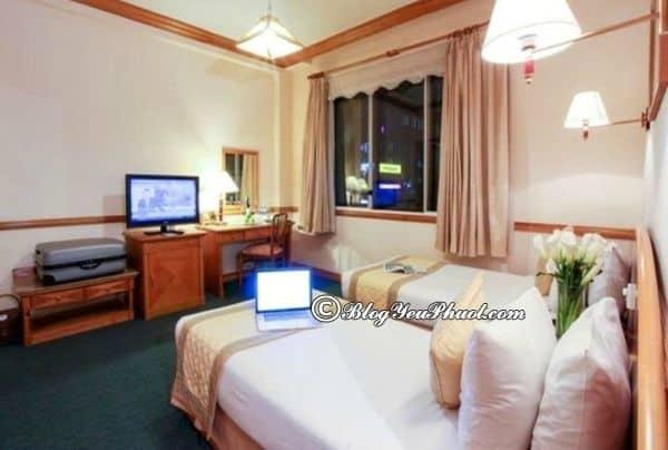 Hình ảnh khách sạn Oscar Sài Gòn có gì đặc biệt? Đánh giá phòng ốc, thiết kế, nội thất khách sạn Oscar Sài Gòn
