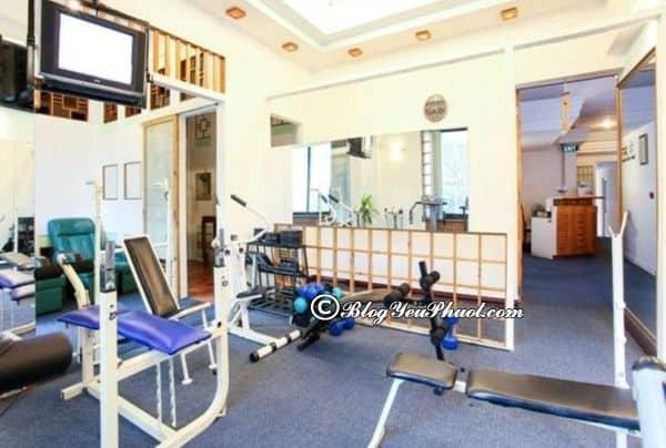 Có nên ở khách sạn Oscar Sài Gòn? Phòng tập thể dục của khách sạn Oscar Sài Gòn