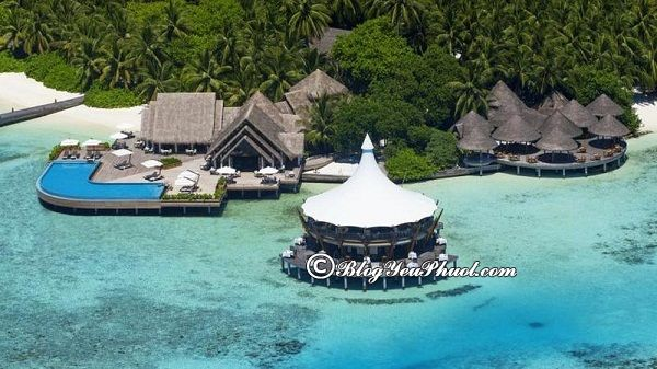 Khu nghỉ dưỡng cao cấp, chất lượng tại Maldives: Những resort ven biển Maldives đẹp, tiện nghi, giá tốt