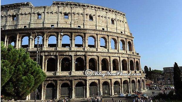 Lịch trình tham quan ở Rome 3 ngày 2 đêm: Hướng dẫn lịch trình tham quan, vui chơi, ăn uống khi du lịch Rome