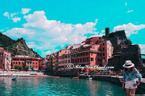Kinh nghiệm du lịch Cinque Terre, Ý