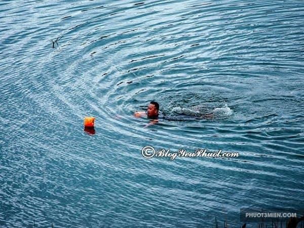 Chơi gì khi du lịch hồ Tà Đùng? Hoạt động vui chơi giải trí ở hồ Tà Đùng