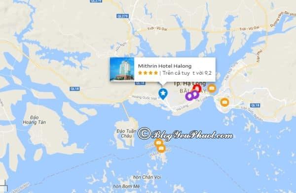 Mithrin Hotel Halong nằm ở đâu, có gần biển không? Review vị trí khách sạn Mithrin Hạ Long