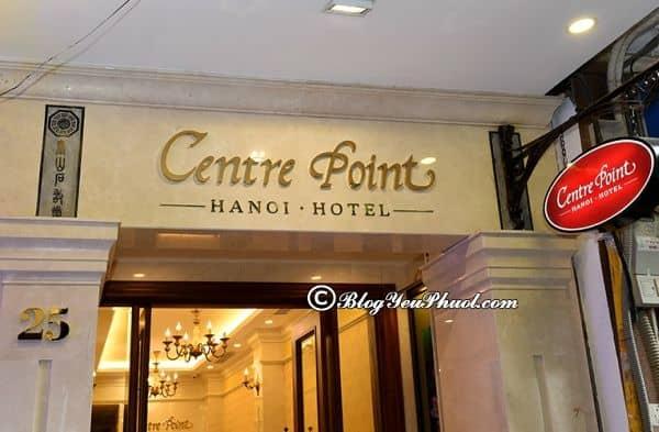 Review khách sạn 3 sao Centre Point Hà Nội