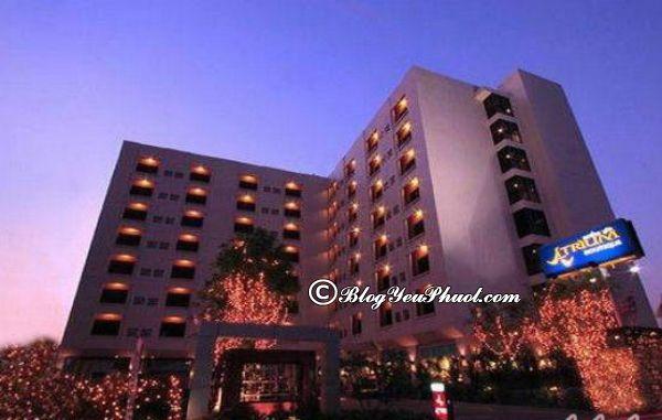 Review khách sạn 3 sao Atrium Hà Nội
