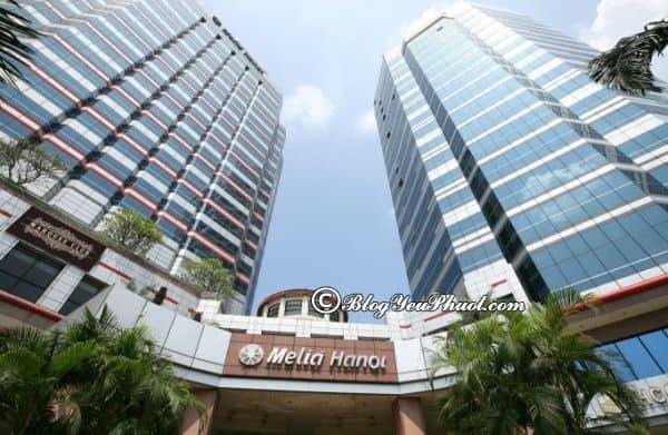 Review khách sạn 5 sao Melia Hà Nội