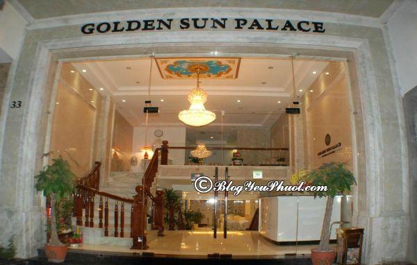 Review khách sạn Golden Sun Palace Hà Nội