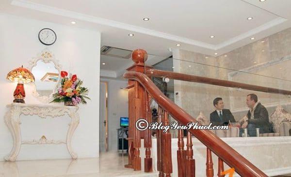 Tiện nghi khách sạn Golden Sun Palace Hà Nội: Review phòng ốc, chất lượng phục vụ, vệ sinh khách sạn Golden Sun Palace Hà Nội