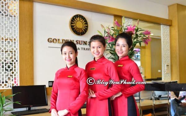 Có nên ở khách sạn Golden Sun Palace Hà Nội không? Đánh giá chất lượng phục vụ, nhân viên khách sạn Golden Sun Palace Hà Nội