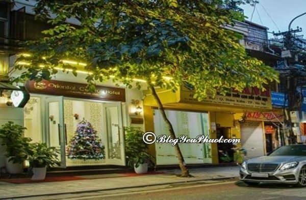 Review khách sạn Oriental Central Hà Nội