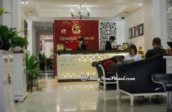 Tiện ích nổi bật của khách sạn Oriental Central Hà Nội? Đánh giá chất lượng phục vụ, vệ sinh, tiện nghi khách sạn Oriental Central Hà Nội