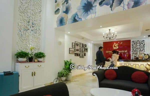 Đánh giá khách sạn Oriental Central về vệ sinh, phục vụ, nhân viên, phòng ốc