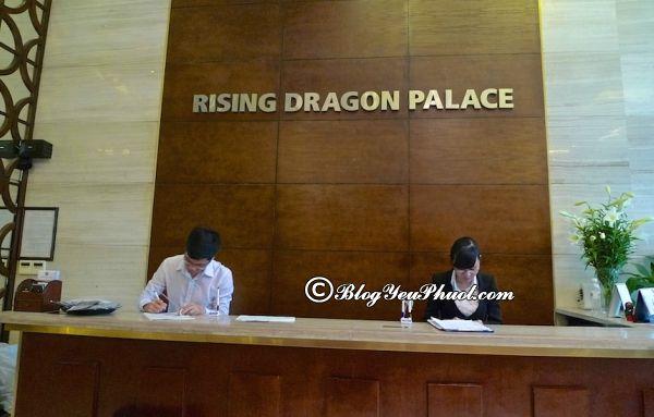 Có nên ở khách sạnRising Dragon Palace? Review chất lượng phục vụ, vệ sinh, tiện nghi khách sạn Rising Dragon Palace Hotel Hà Nội