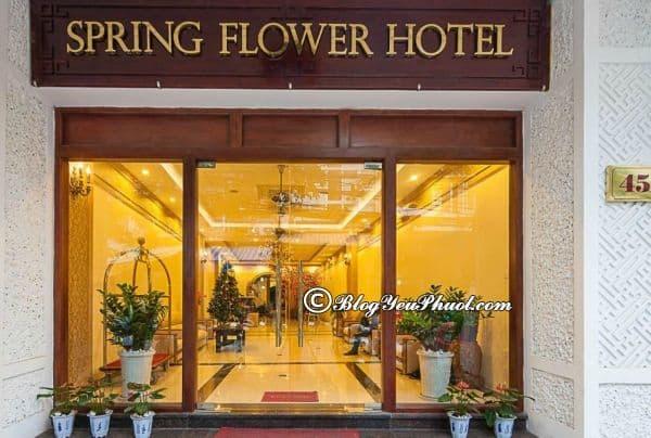 Đánh giá chất lượng phục vụ, tiện nghi, phòng ốc của Spring Flower Hà Nội: Khách sạn Spring Flower Hà Nội có tốt không?