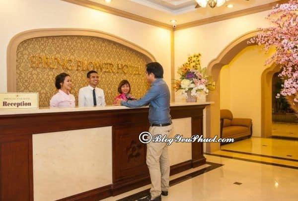 Đánh giá khách sạn Spring Flower về vệ sinh, phục vụ, tiện nghi: Có nên đặt phòng khách sạn Spring Flower Hà Nội hay không?