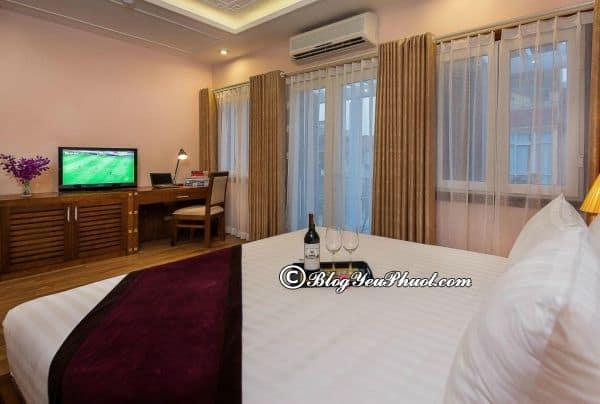 Có nên ở Spring Flower hotel? Đánh giá nội thất, phòng ốc, tiện nghi của khách sạn Spring Flower Hà Nội