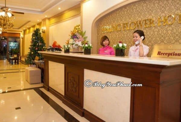 Tiện nghi nổi bật của khách sạn Spring Flower: Đánh giá chất lượng phục vụ của khách sạn Spring Flower Hà Nội