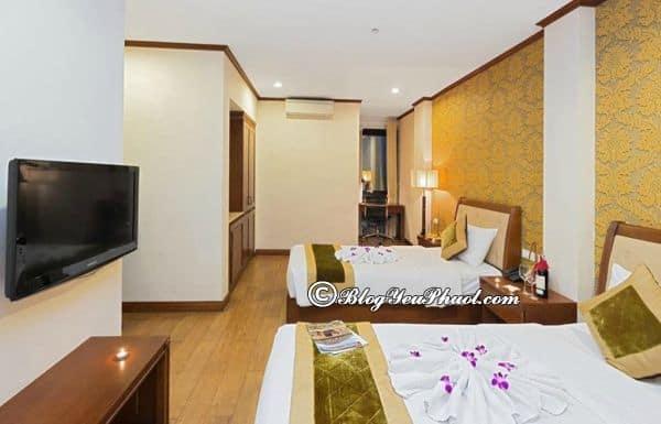 Tiện ích nổi bật của khách sạn Sunset Westlake Hotel: Review phòng ốc, tiện nghi, nội thất khách sạn Sunset Westlake Hà Nội