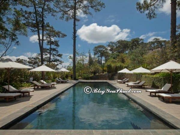 Sự tiện nghi của khách sạn Ana Mandara Villas Dalat: Đánh giá chất lượng, tiện nghi, vị trí của khách sạn Ana Mandara Villas Dalat