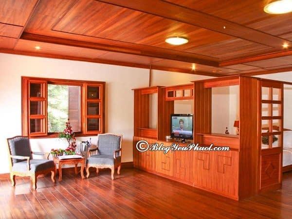 Dịch vụ phòng ở khách sạn Hoàng Anh Đất Xanh Đà Lạt: Review chất lượng phục vụ của khách sạn Monet Garden Villa Đà Lạt
