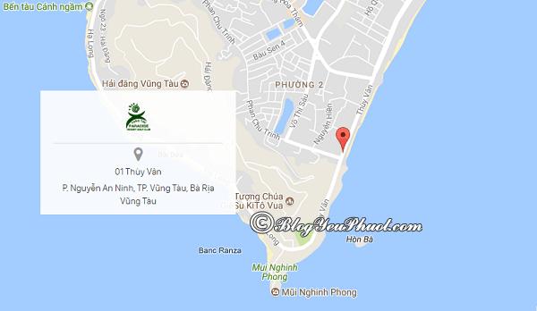Paradise Beach Resort Vũng Tàu ở đâu, có gần biển không? Đánh giá vị trí của Paradise Beach Resort Vũng Tàu