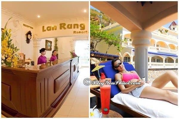 Dịch vụ của khách sạn Làm Rừng: Khách sạn Lan Rừng Vũng Tàu có tốt không?