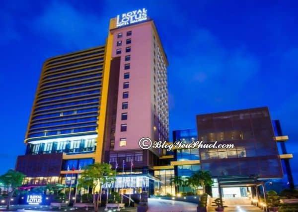 Khách sạn Royal Lotus Hạ Long- khách sạn 4 sao ở Bãi Cháy