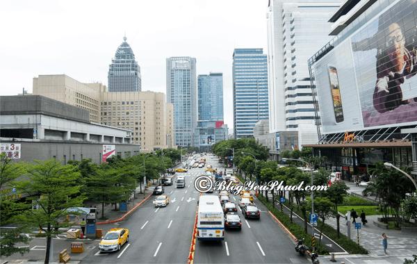 Kinh nghiệm đi lại ở Đài Loan