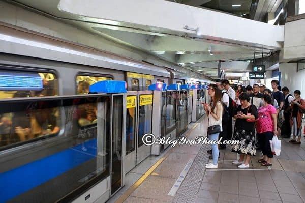 Di chuyển từ sân bay Taoyuan về Đài Loan bằng cách nào? Các loại phương tiện đi du lịch Đài Loan