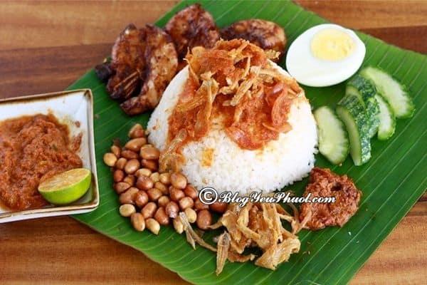 Du lịch Singapore – Malaysia tực túc nên ăn món gì? Kinh nghiệm ăn uống khi đi du lịch Singapore – Malaysia