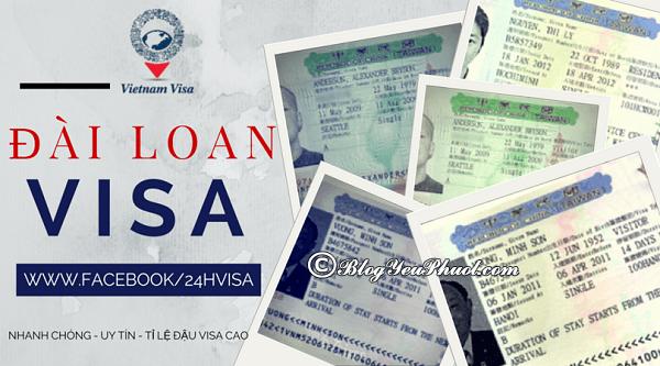 Du lịch Cao Hùng, Đài Loan có cần xin Visa không? Hướng dẫn xin visa du lịch Cao Hùng, Đài Loan
