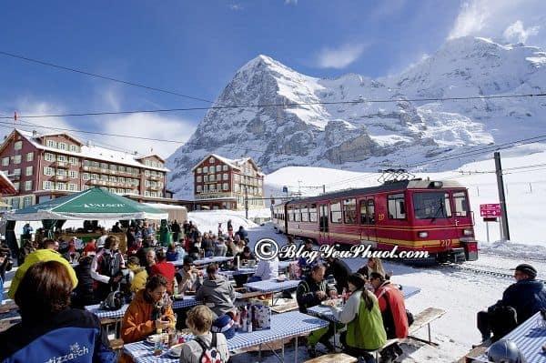 Đi đến đỉnh Jungfrau như thế nào? Hướng dẫn du lịch Jungfrau, Thụy Sĩ tự túc, giá rẻ