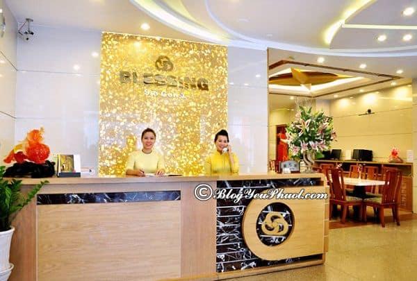 Khách sạn 3 sao Blessing 1 Sài Gòn có đẹp không? Đánh giá phòng ốc, chất lượng phục vụ, tiện nghi của khách sạn Blessing 1 Sài Gòn