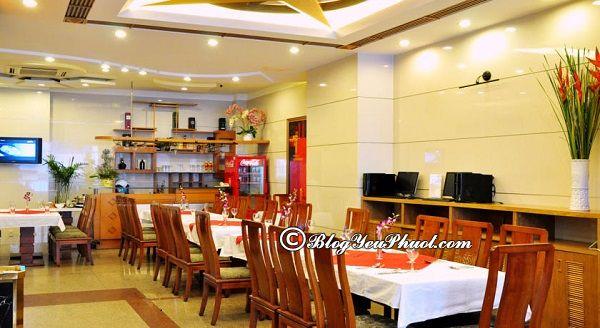 Khách sạn 3 sao Blessing 1 Sài Gòn có tốt không? Review nhà hàng, đồ ăn của khách sạn Blessing 1 Sài Gòn