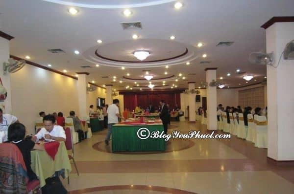 Review chất lượng nhà hàng, đồ ăn của khách sạn Kim Liên Đống Đa Hà Nội