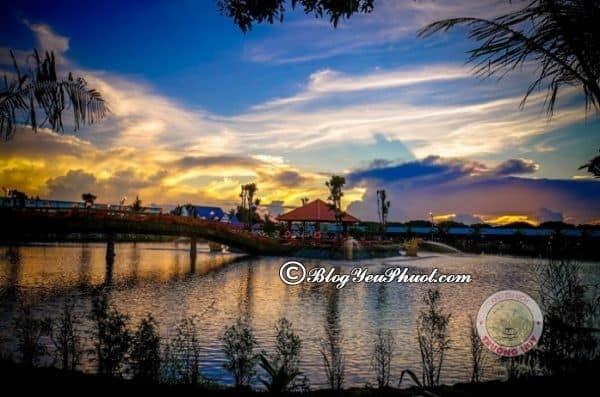Địa điểm tham quan, vui chơi ở khu du lịch Trường Huy, Vĩnh Long: Địa điểm check in, ngắm cảnh đẹp ở khu du lịch Trường Huy