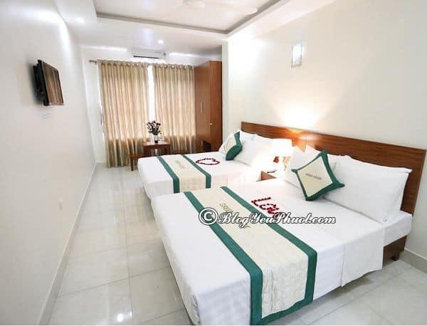 Du lịch đảo Cát Bà nên ở khách sạn nào? Khách sạn ở đảo Cát Bà sạch sẽ, giá bình dân, tiện nghi đầy đủ