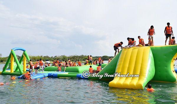 Hoạt động vui chơi, giải trí hấp dẫn ở khu du lịch Suối Mơ, Đồng Nai: Khu du lịch Suối Mơ Đồng Nai có trò chơi gì vui, thú vị?