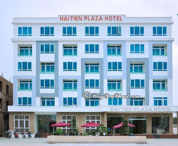 Khách sạn cao cấp, view đẹp ven biển Hải Tiến: Nên ở khách sạn nào khi du lịch biển Hải Tiến?